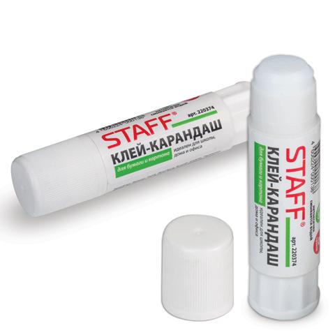 Клей-карандаш 8гр, 40шт/уп (STAFF)