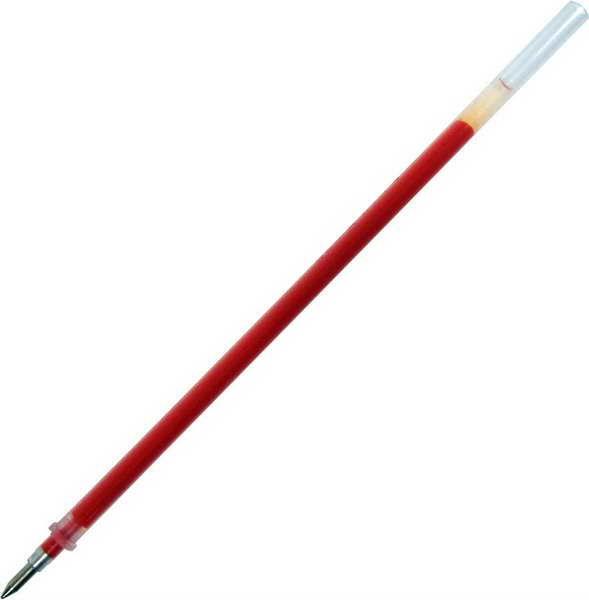 Стержень гелевый красный, 0,6мм, 135мм 100шт/уп (Beifa)