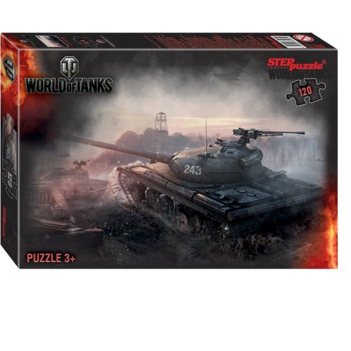 Пазл детский «World of Tanks», 120 элементов
