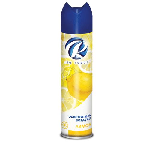 """Освежитель воздуха RIO ROYAL (Рио Роял), 300мл """"Лимон"""""""