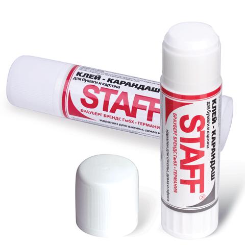 Клей-карандаш 15гр, 24шт/уп (STAFF)