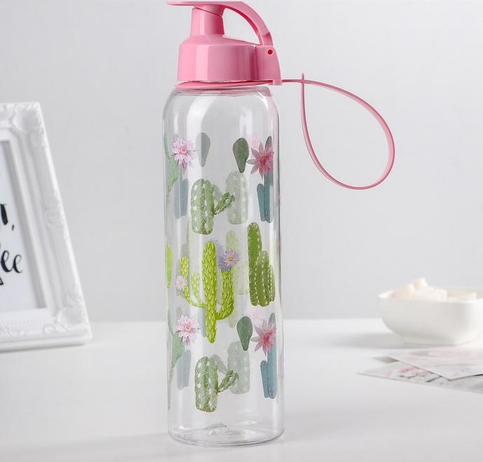 """Бутылка для воды """"Тропики"""", 500 мл"""