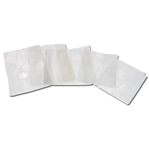 Обложка д/учебника и тетради А4 (302х580мм), ПВХ 120мкм, универсальная, прозрачная, плотная