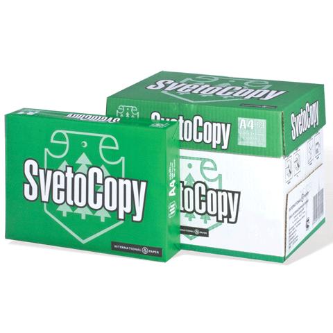 Бумага SvetoCopy (А4, 80 г/кв.м, белизна 146% CIE, 500 листов, класс С)