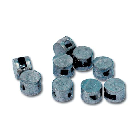 Пломба свинцовая д-10мм, выс-7мм, упаковка 2кг(480-490 шт\уп)