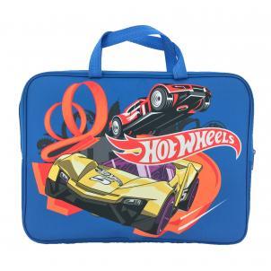 """Папка-сумка A4 с ручками, ткань """"Hot Wheels"""""""