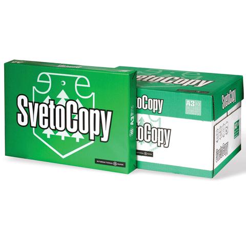 Бумага SvetoCopy (А3, 80 г/кв.м, белизна 146% CIE, 500 листов, класс С)