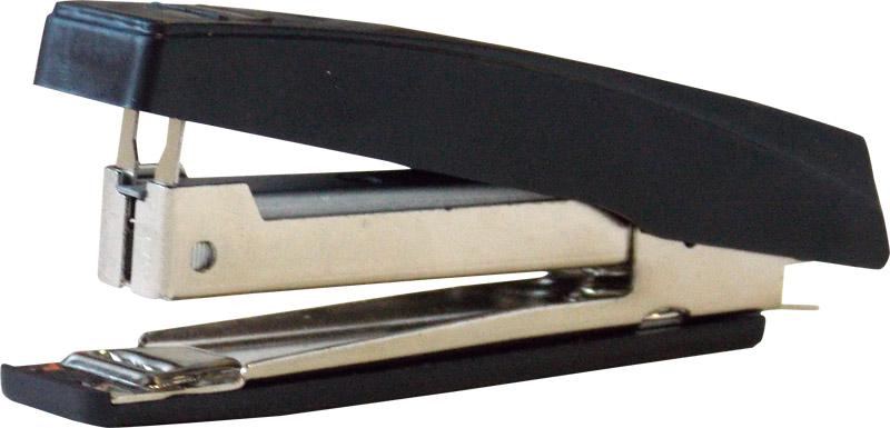 Степлер №10, до 10л, пластиковый, черный (OfficeSpace)