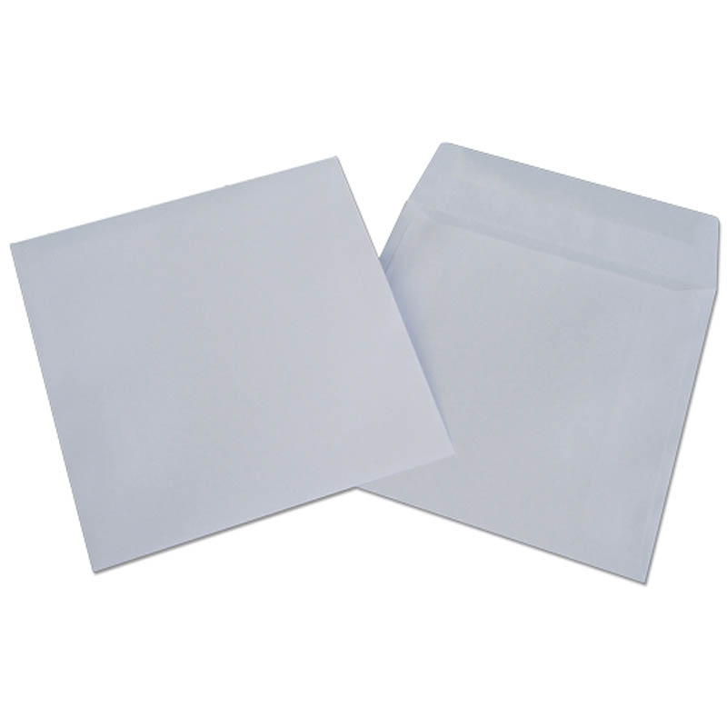 Конверт для CD/DVD бумажный (25шт/уп) (1000шт/кор.) (Packpost )