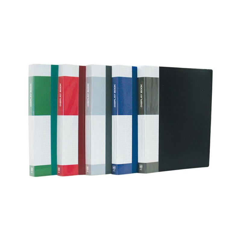"""Папка на 60 файлов, черная, торцевой карман, 700мкм """"Standard"""" (Berlingo)"""