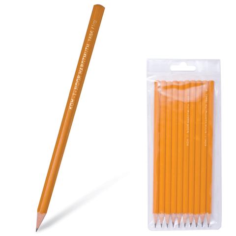 Набор карандашей ч/гр 10 штук (2В-2Н) (Koh-i-noor)