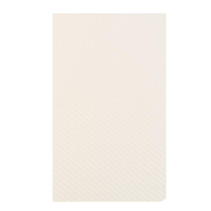 """Бизнес-блокнот А5, 128л, нелинованный, интегральная обложка, белый """"GRAFITE"""" (Hatber)"""