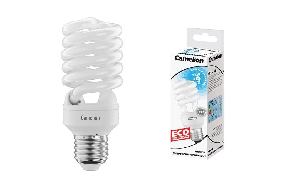 Лампа энергосберегающая Camelion 20вт, 220в