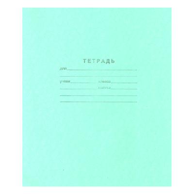 Тетрадь А5, 18л, клетка (Т2 ЗЕЛ 5Г) 160шт/уп (Маяк)