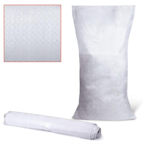 Комплект мешков полипропилен 10шт (до 50кг) 105х55см, белые