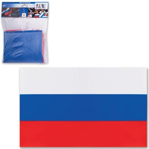 Флаг РФ 70х105см, шелк