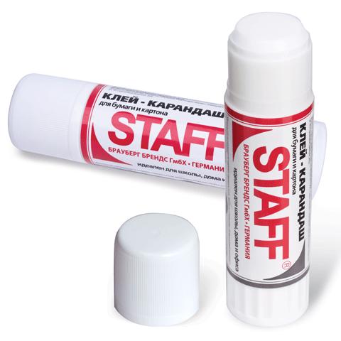 Клей-карандаш 36гр, 18шт/уп (STAFF)