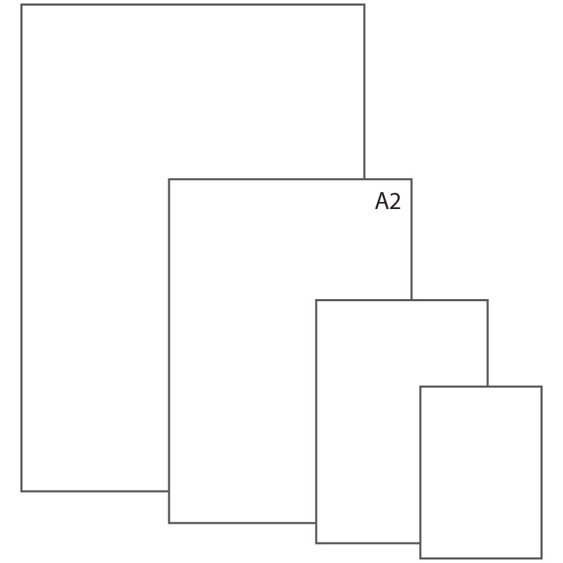 Ватман А2 (594х420мм), 200гр/м2 (ЛенГосзнак)