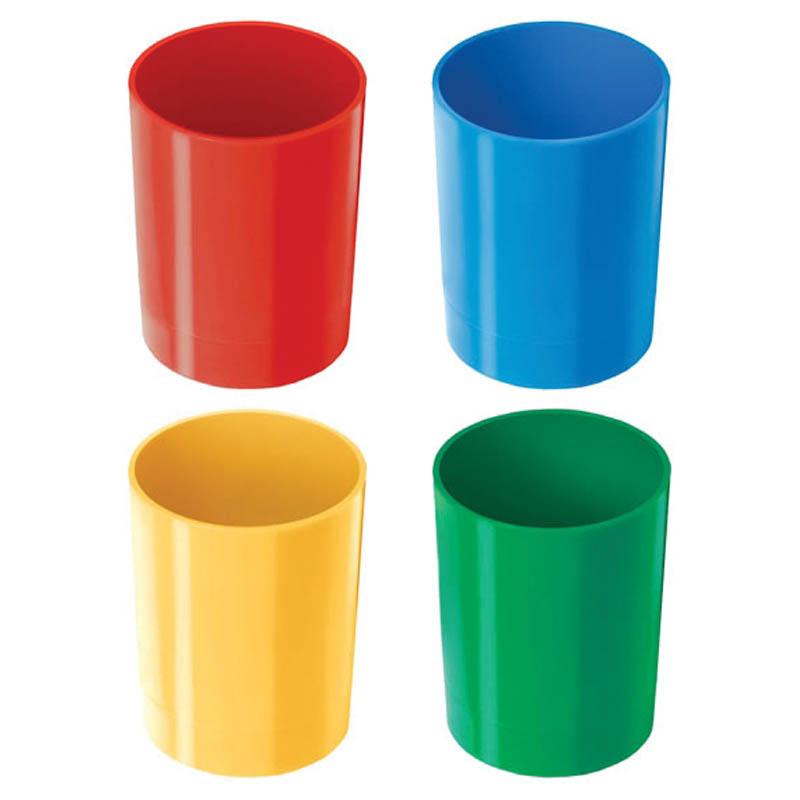 Подставка-стакан для школьных принадлежностей, ассорти (Стамм)