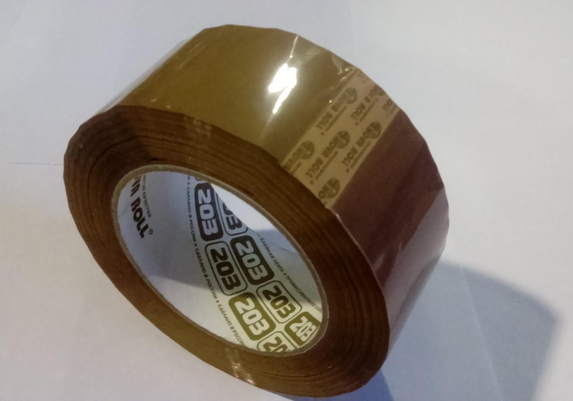 Скотч упаковочный 48х150м, темный, 6шт/спайка, 30шт/кор  (НоваРолл)