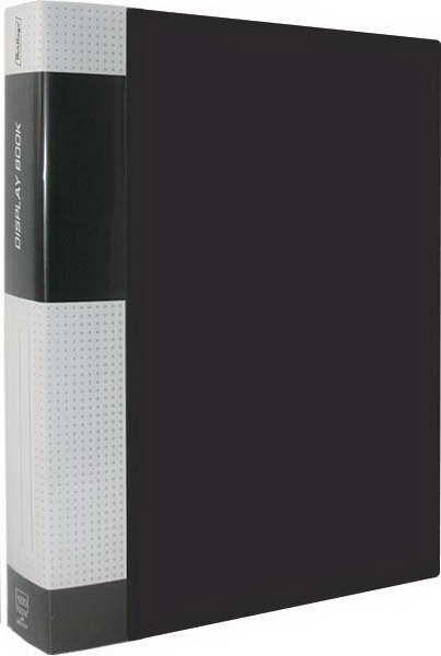 """Папка на 100 файлов, черная, торцевой карман, 40мм, 800мкм """"Standard"""" (Berlingo)"""