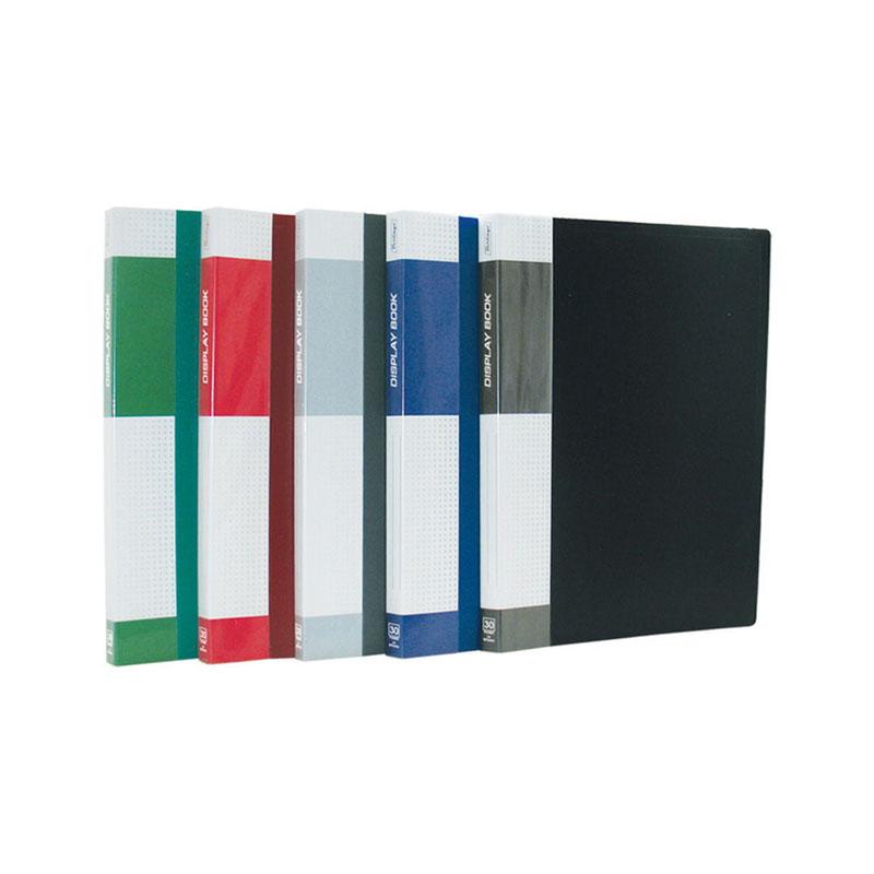 "Папка на 30 файлов, синяя, карман на корешке, 17мм, 600мкм ""Standard"" (Berlingo)"
