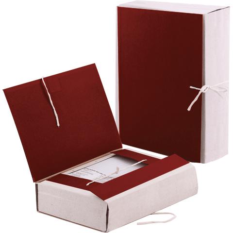 Папка архивная 120мм, бумвинил, на 4-х завязках, корешок-коленкор
