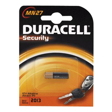 Батарейка MN27, 12В (для сигнализаций) (DURACELL)
