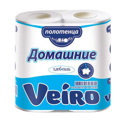 """Полотенца бумажные Veiro (Вейро) (2шт) 2-х сл., х12,5м """"Домашнее"""""""