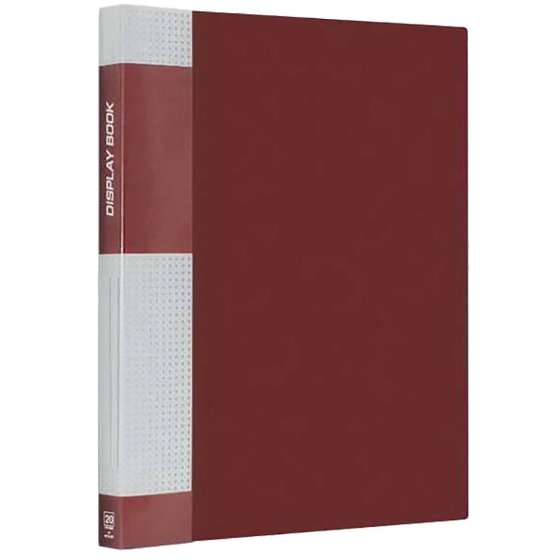 "Папка на 20 файлов, красная, карман на корешке, 14мм, 600мкм ""Standard"" (Berlingo)"