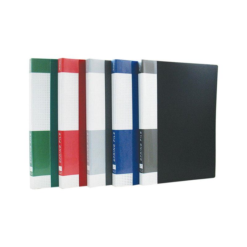 "Папка на 30 файлов, красная, карман на корешке, 17мм, 600мкм ""Standard"" (Berlingo)"