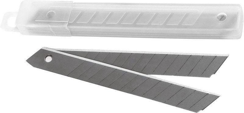 Лезвия для канцелярских ножей 9мм, 10шт/уп (Berlingo)