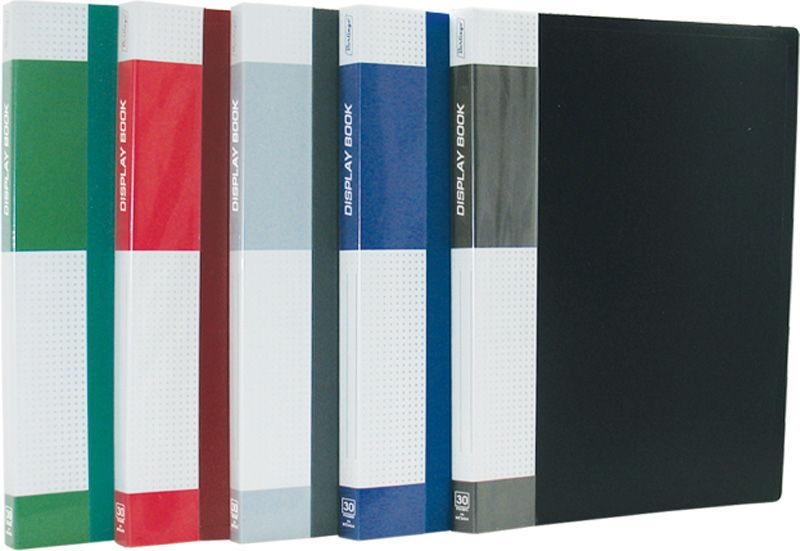 "Папка на 30 файлов, зеленая, карман на корешке, 17мм, 600мкм ""Standard"" (Berlingo)"