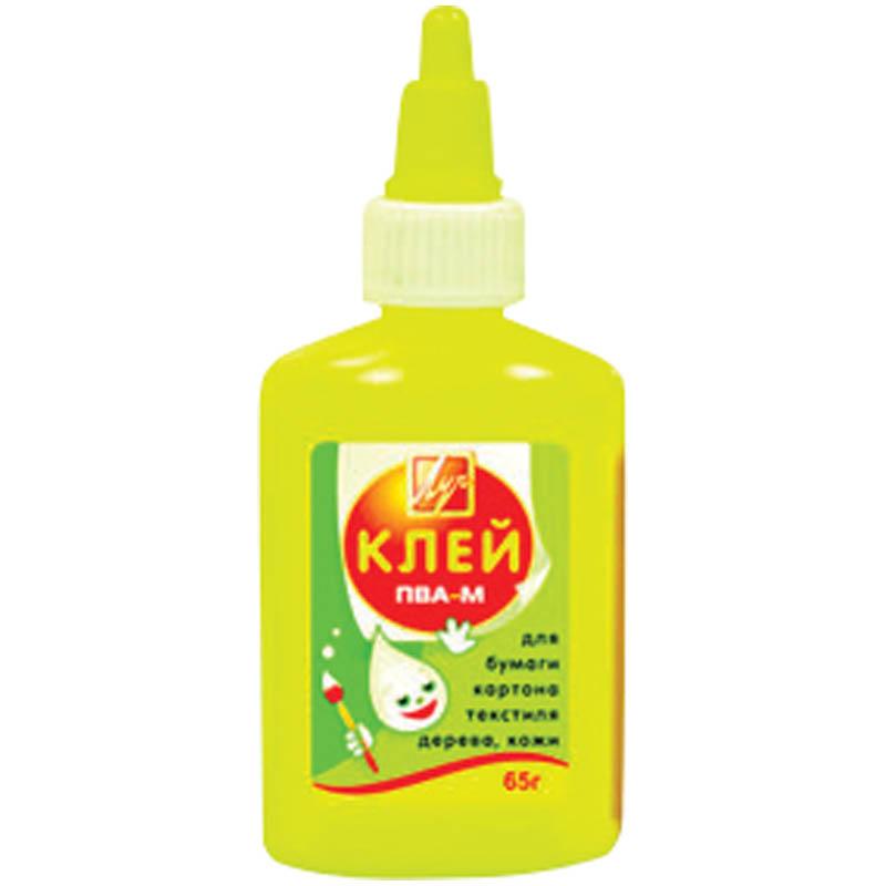 Клей ПВА-М 65гр 55шт/уп (ЛУЧ)