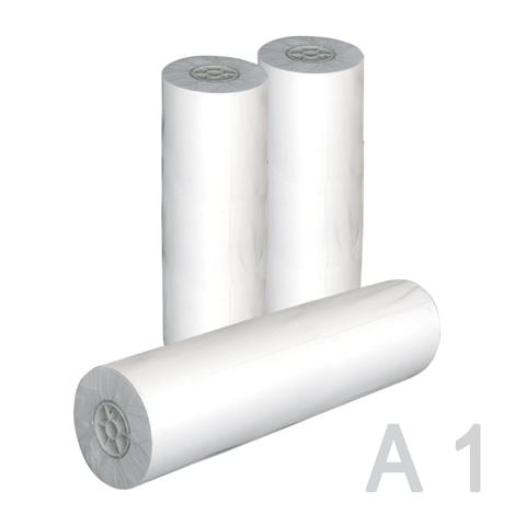 Рулон д/плоттера 610х50х50, 80г/м2,  А1+, белизна CIE 162%  (STARLESS)