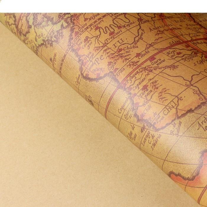 Бумага упаковочная крафт 60х60 см
