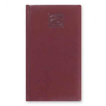"""Телефонная книга 48л, 92х160мм, бордо """"Каньон"""" (Attache)"""