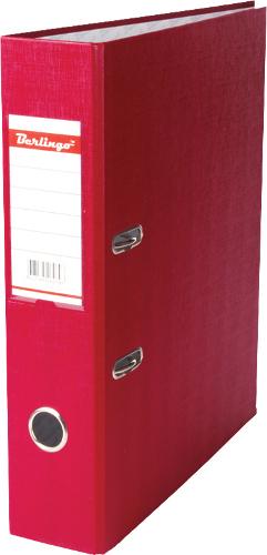 Папка-регистратор70мм,с карманом, бордо (Berlingo)