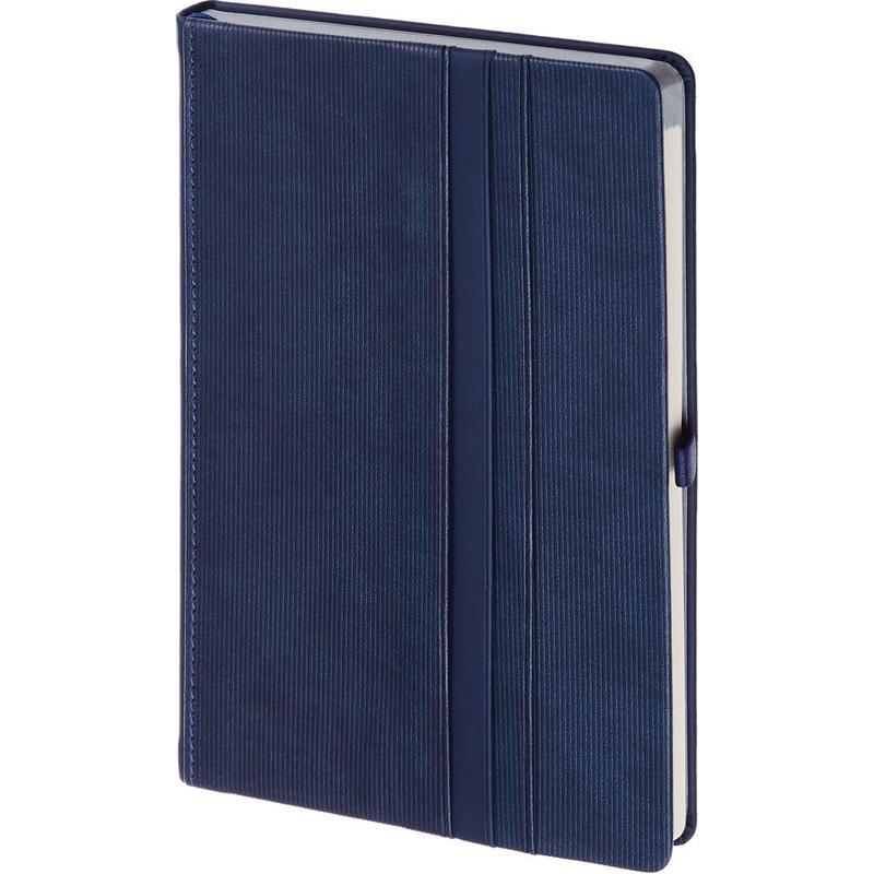 """Ежедневник недатированный А5, 136 листов, синий """"ALICANTE"""" (BONCARNET)"""
