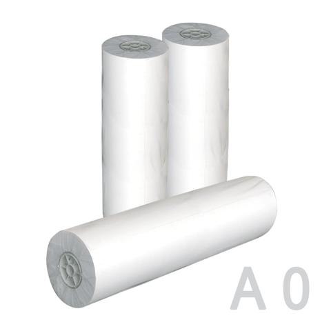 Рулон д/плоттера 914х50х50мм, 80г/м2, бел. 96%,ш/к 01766 (СТРЛ)