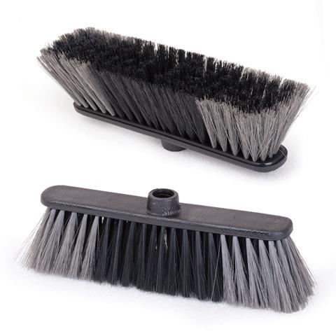 """Щетка для уборки IDEA """"Стандарт"""", ширина 27см, высота щетины 7см, пластик, черная, М 5101"""