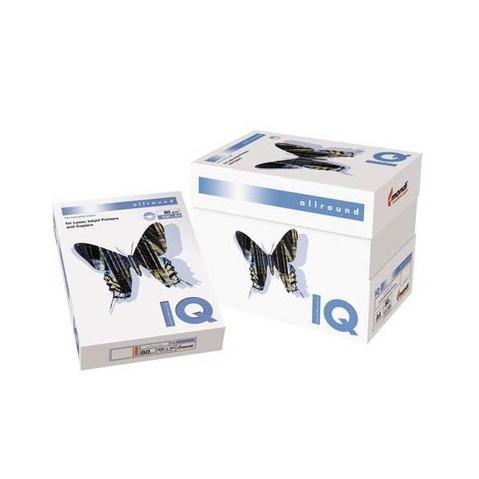 Бумага IQ Allround (А4, 80 г/кв.м, белизна 162% CIE, 500 листов, класс В)