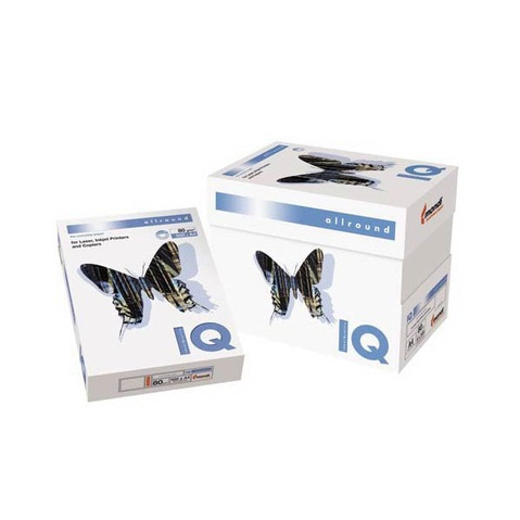 Бумага IQ Allround (А3, 80 г/кв.м, белизна 162% CIE, 500 листов, класс В)